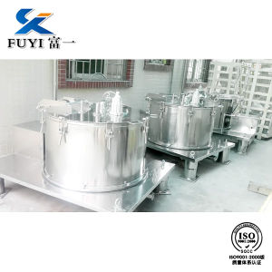 Manual Ex-Proof Basket Centrifuge for Plastic Particles