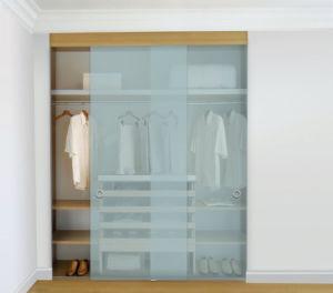 Sliding Door Glass Walk in Wardrobes Closet with En12150 pictures & photos