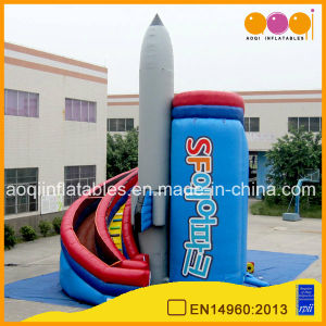 Inflatable Rocket Curve Slide (aq1123-1) pictures & photos