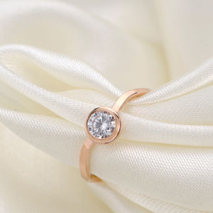 Fashion Women Jewelry Stainless Steel Ring with Diamonds ((hdx1066) pictures & photos