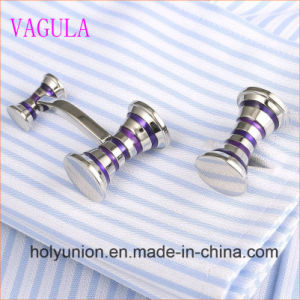 VAGULA Gemelos Men French Shirt Enamel Hammer Cuff Links 356 pictures & photos