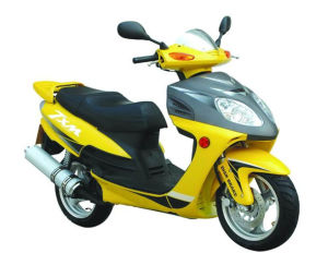 Super Light  50cc  Disc Brake  Road  Gas  Scooter  for Sale   (SY50T-8) pictures & photos