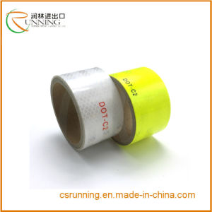 High Visibility Yellow Caution Reflective Sheeting pictures & photos