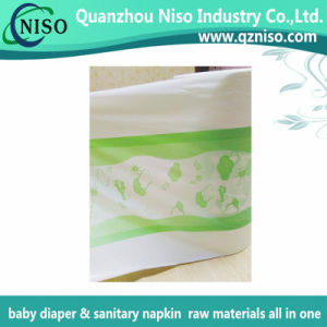 Baby Diaper Raw Materials Nonwoven Center Laminated Film for Diaper Backsheet. pictures & photos