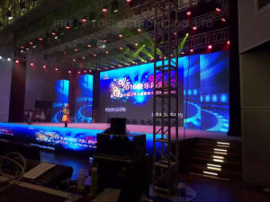 P3.91 Indoor Rental LED Video Wall for Wedding/Banquet/Party (500*500mm) pictures & photos