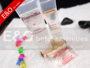 114ml Transparent Hotel Cosmetic PE Tube pictures & photos