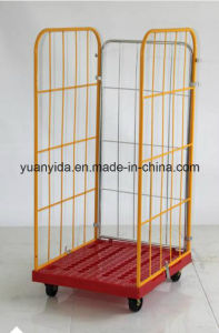 Security Roll Container 2017 Powder Coating Plastic Base pictures & photos
