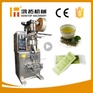 Sugar Salt Coffee Beans Rice Nuts Snack Grain Granule Small Packing Machine for Tea Bag pictures & photos