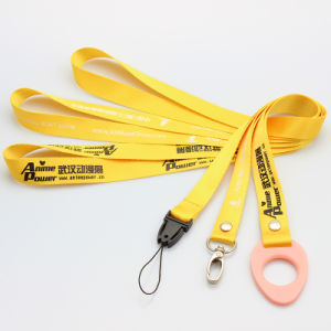 Tto Printing Lanyard for Phone/Certificate/Name Badge/Work Permit 2.5mm pictures & photos