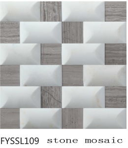 Century Design Nature Stone Mosaic for The Television Background Wall (FYSSL109)