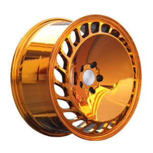 Golden Color Big Piece Alloy Wheel pictures & photos
