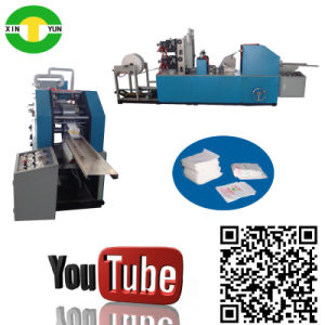 High Speed Full Auto Colors Napkin Paper Fold Machine Equipment pictures & photos
