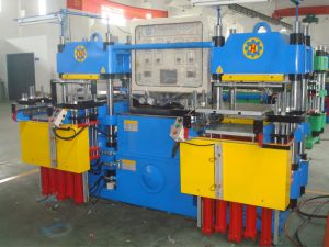 100t High Speed Ruber Silicone Hot Press Machine Made in China pictures & photos
