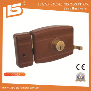 Security High Quality Door Rim Lock (6683) pictures & photos