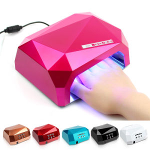 36W Diamond CCFL Nail Art Gel Curing LED Lamp pictures & photos