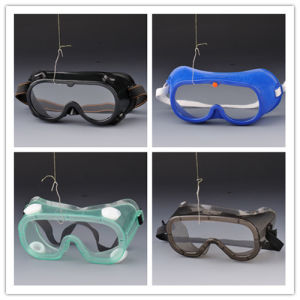 China Cheap PVC Safety Goggle Eyewear for Industrial pictures & photos