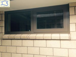 Customized High Quality Energy Saving Double Glass Thermal Break Aluminium Window pictures & photos