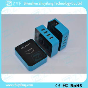 Cuboid Design 4 Port Home Wall USB Charger Adapter (ZYF9028) pictures & photos