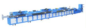 Electronic Label-Ribbon Automatic Screen Printing Machine (SPE-3000S-3C) pictures & photos