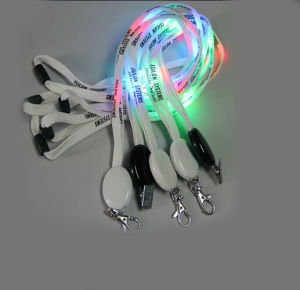 2017 New Fashion Colorful LED Lanyard pictures & photos