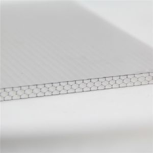 UV Coated Honeycomb Sun Panel for Building Material pictures & photos