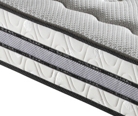 High Quality Modern 7-Zone Pocket Coil Spring Hotel Bed Mattress pictures & photos