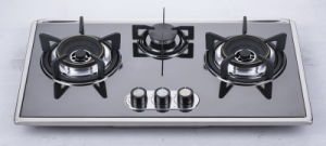 Three Burner Gas Stove (SZ-LW-119) pictures & photos