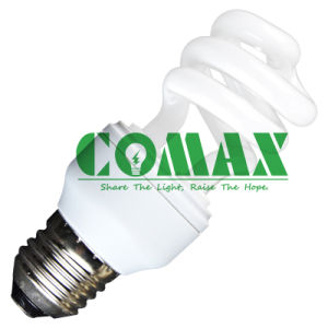 CFL Light T3 Half Spiral 5W Energy Saving Lamp pictures & photos