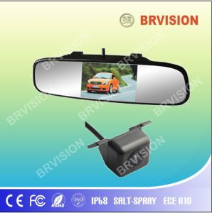 4.3 Inch TFT LCD Car Mirror Monitor System with Mini Camera pictures & photos
