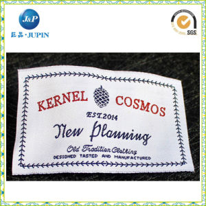 Wholesales Customized Woven Damask Label (JP-CL062) pictures & photos