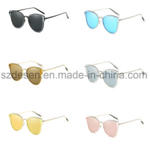 Top Quality Promotion Custom Mirror Len′s Metal Sunglasses pictures & photos