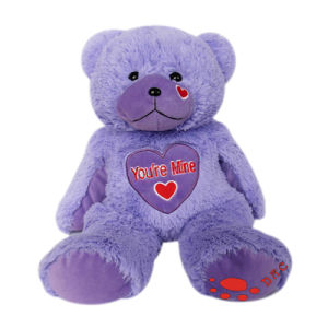 Plush Brown Bear with Heart pictures & photos