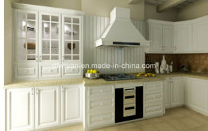Melamined Faced Chipboard MFC Kitchen Cabinet pictures & photos
