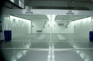 Jf Auto Repair Line of Preparation Room Polish Booth Auto Prep Booth pictures & photos
