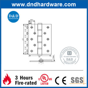 Decorative Hardware Fire-Rated Door Hinge With UL Certificated (DDSS056) pictures & photos