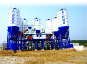Concrete Mixing Plant Hot Sale in Saudi pictures & photos