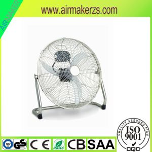18inch Floor Fan with Chrome Grille and Aluminum Blades pictures & photos
