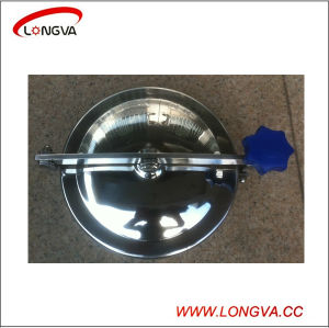 Round Stainless Steel 316 Sanitary Manway pictures & photos