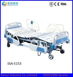 Medical Equipment Luxury Electric ABS Ajustable Multifunctional Hospital Bed pictures & photos