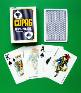 Plastic Poker Club Playing Cards pictures & photos