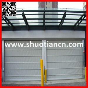 High Speed Rolling up PVC Industrial Door (ST-001) pictures & photos