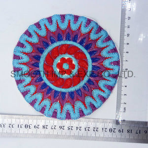 Fashion Colorful Round Yrn Ethnic Embroidery Patch Garment Accessories Wholesale pictures & photos