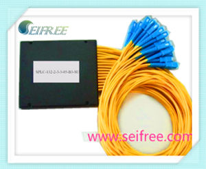 FTTH Fiber Optical PLC Splitter 1X32 with ABS Box (B3) pictures & photos