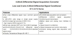 Low Cost2-Wire4-20madifferential Signal Conditionersy Isolator C-A4-P9-O4 pictures & photos