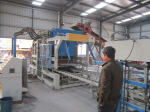 Qft10-15 Fully Automatic Fly Ash Brick Making Machine