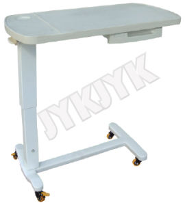 Medical Luxurious ABS Over-Bed Table for Hospital Bed pictures & photos