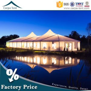 20m Width Large Glass Wall Rainproof PVC Tent Marquee for Wedding Party pictures & photos