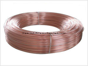 Copper-Plated Bundy Tube for Refrigerator Condenser pictures & photos