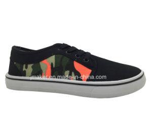 Classic Low Top Men′s Canvas Footwear (J2297-M)