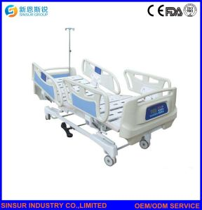 China Luxury Hospital Equipment Electric Multi-Function Weight System Medical Bed pictures & photos